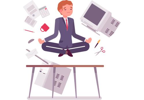 Professional meditating